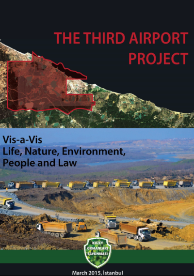 Istanbul 3rd Airport report, North Forest Defence, cover