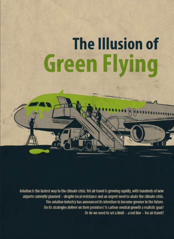 Illusion green flying