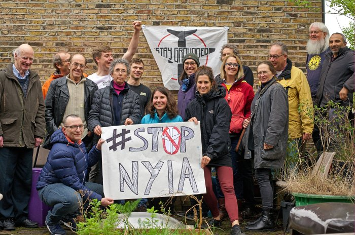 Stop NYIA, London April 2018