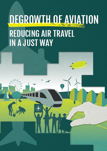 DeGrowth of Aviation report - cover