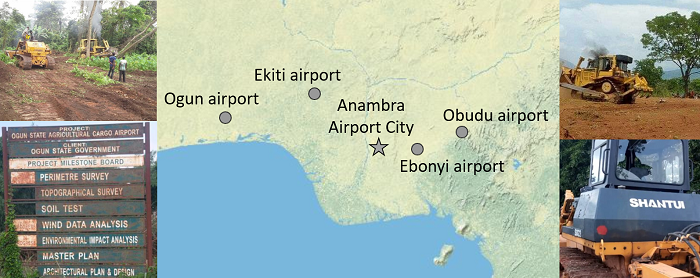 cluster of airport-related conflicts in Nigeria